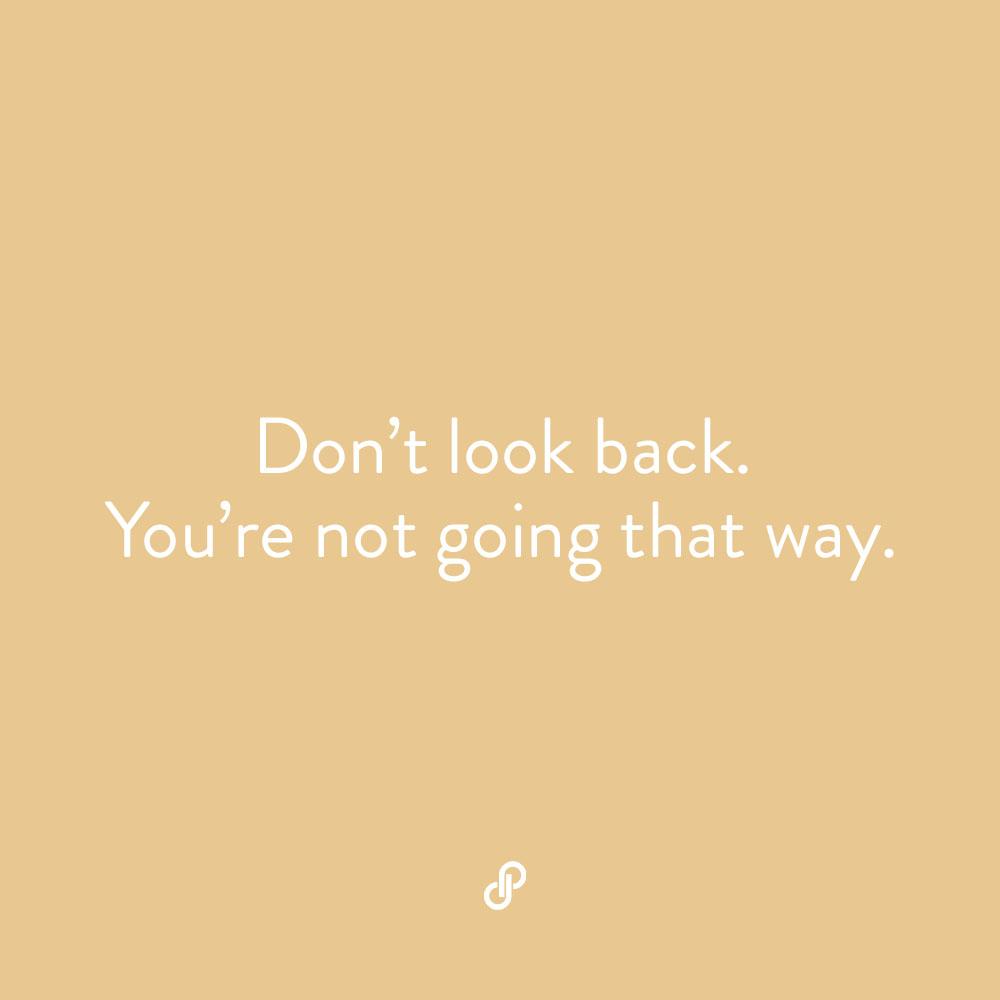 Look forward. ⭐️