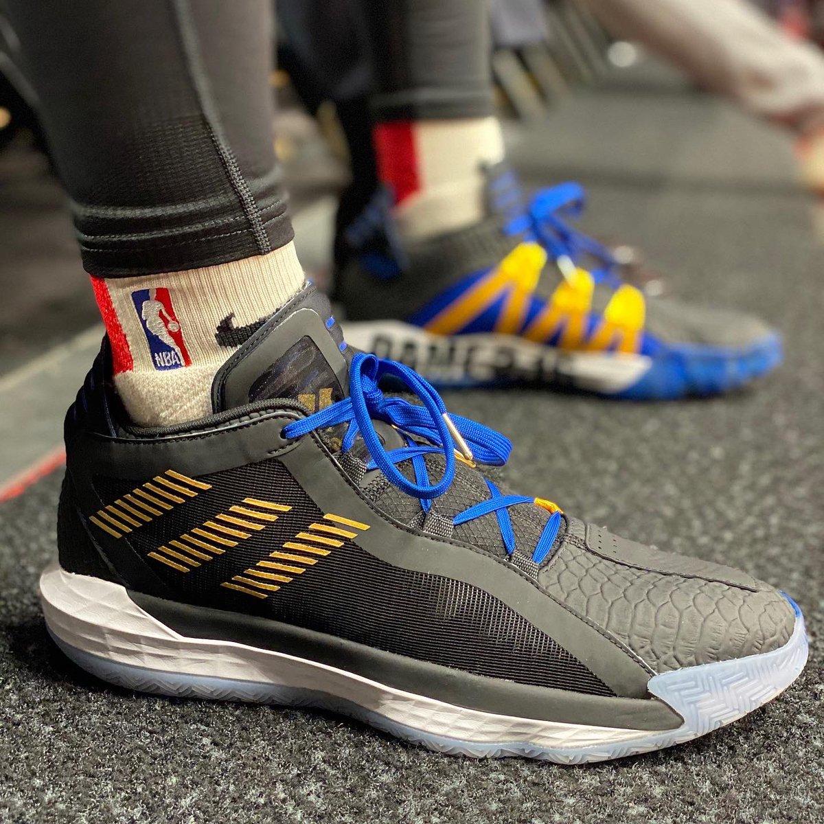 Dame 3:16 on the feet! #NBAKicks