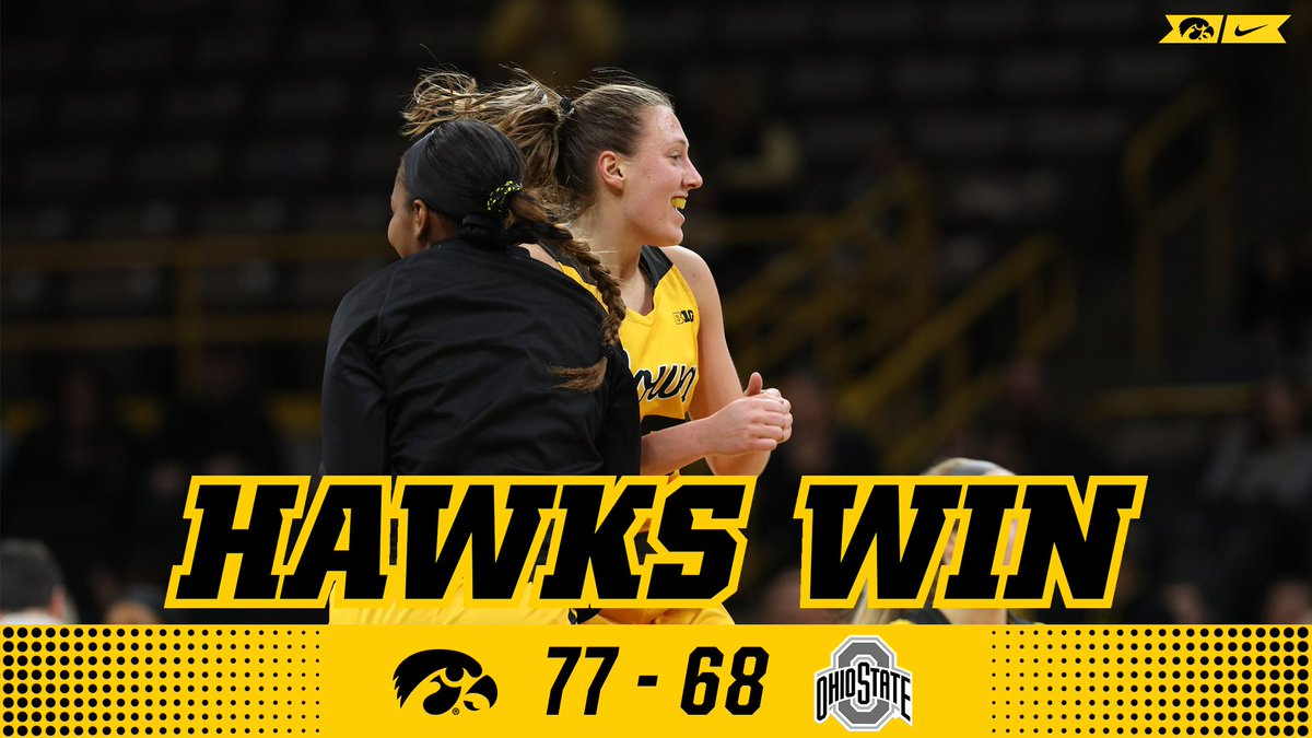 Make that 31 straight home wins!  #Hawkeyes #FightForIowa<br>http://pic.twitter.com/KUUXElFT2a