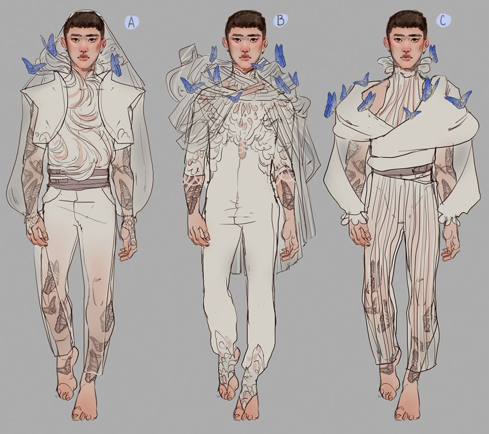 ah! Just realized I never shared these Kyungsoo doodles made for the fashion zine <br>http://pic.twitter.com/BKhXbI2Ae3