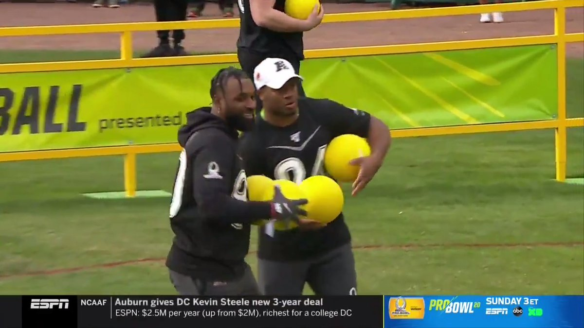 @NFL's photo on #ProBowlSkills