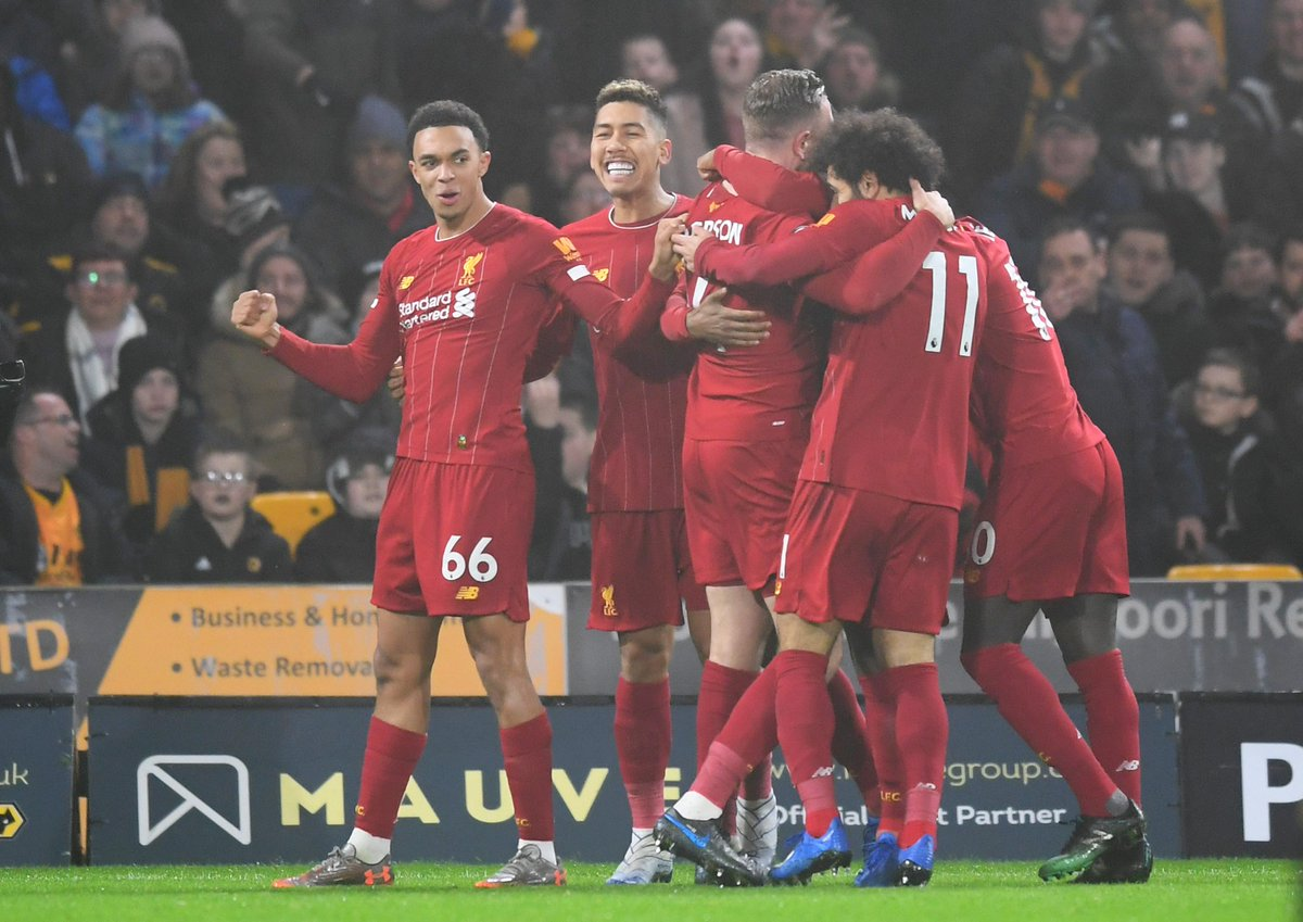 @LFC beat Wolves to go 40 unbeaten in the #PL  WWDDWDWDWWWWWWWWWWWWWWWWWDWWWWWWWWWWWWWW  #WOLLIV<br>http://pic.twitter.com/maRKUxzE6c