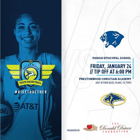 🚍 Youth Basketball Tour 🚘 @PCAAthletics 🆚 @ParishSports tomorrow night! 🏀