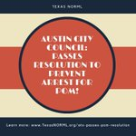 Image for the Tweet beginning: #Austin City Council passes resolution