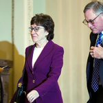 Image for the Tweet beginning: Susan Collins asked Justice Roberts