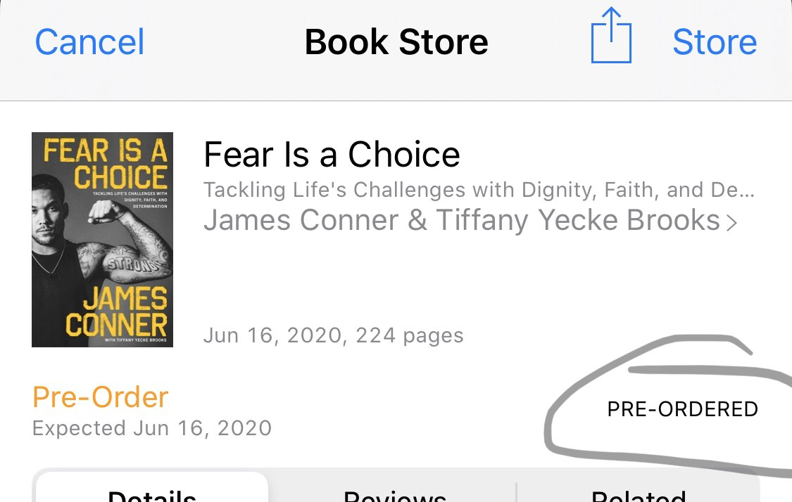 @JamesConner_ Done!! Looking forward to reading.