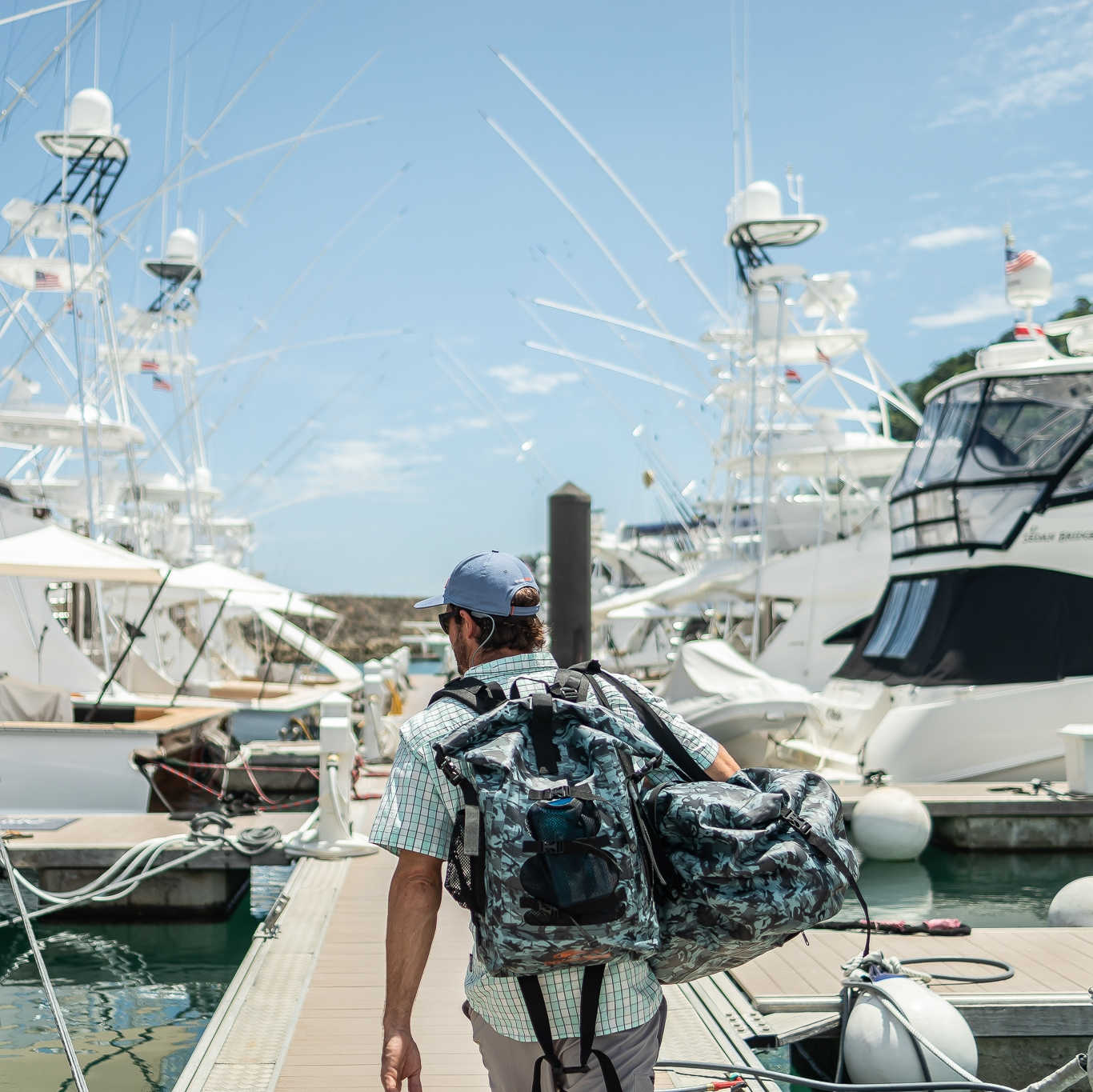 Grundens Rum Runner Backpack 30 Liter
