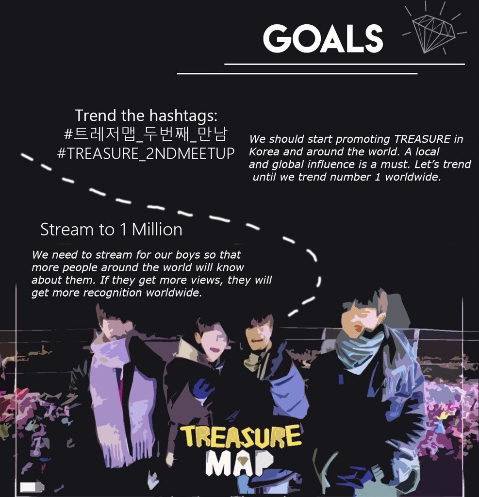 TREASURE MAKERS ! Episode 2 of Treasure Map will drop later and in line with that, we will be having a hashtag party  and goals to reach just like last week.   For more details, please refer at the poster below.   @ygtreasuremaker #TREASURE<br>http://pic.twitter.com/CcGP4a7faW