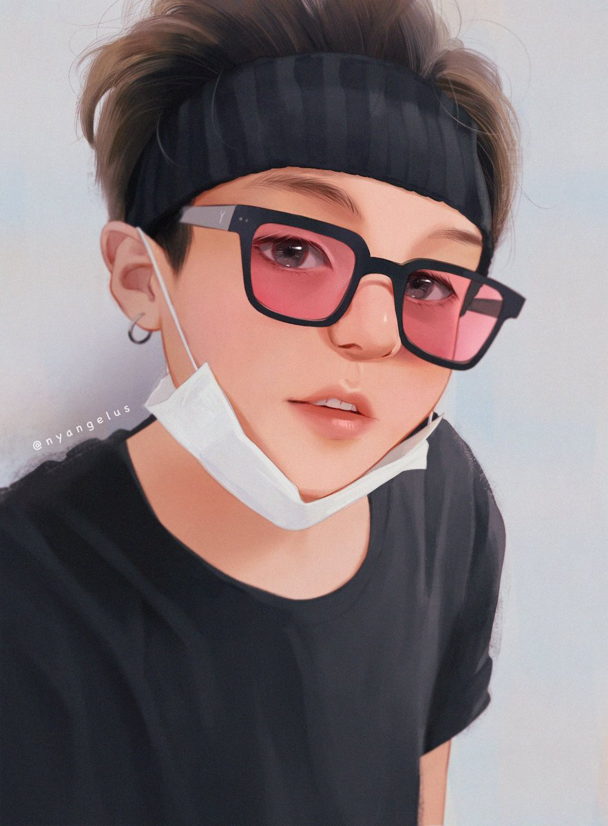Commission I made for a lovely anon    #Yoongi #btsfanart #commission<br>http://pic.twitter.com/PQHcuphdEH