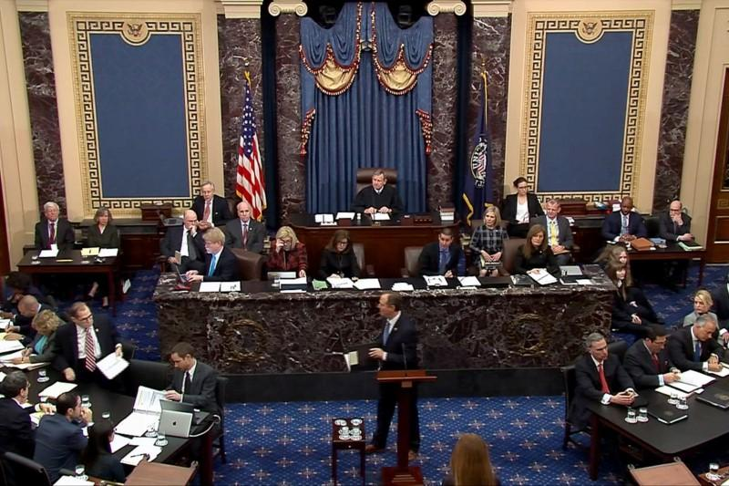 How long can the U.S. Senate sit still? Twenty minutes https://www.reuters.com/article/us-usa-trump-impeachment-restlessness-idUSKBN1ZM33J?taid=5e2a3ac20f91f60001a238fc&utm_campaign=trueAnthem%3A+Trending+Content&utm_medium=trueAnthem&utm_source=twitter…