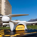 Image for the Tweet beginning: Switzerland's drone delivery program to