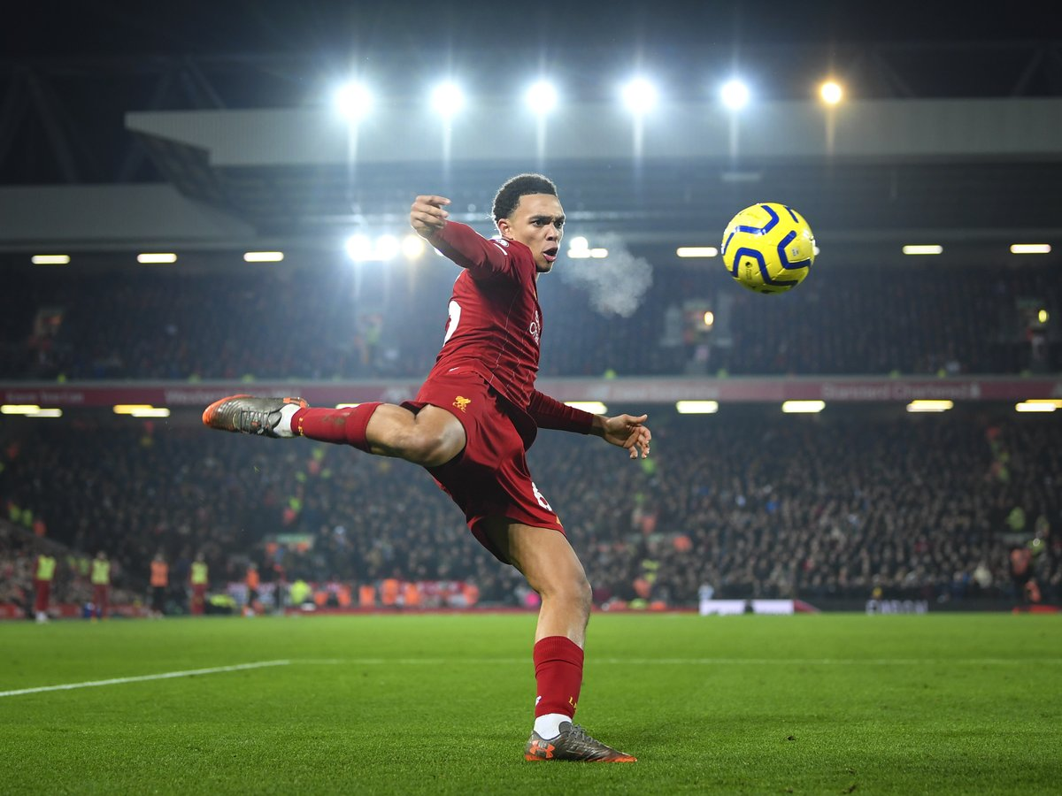 Since the start of last season, Trent Alexander-Arnold has assisted 22 Premier League goals -  five more than any other player  <br>http://pic.twitter.com/lYohdsLPxz