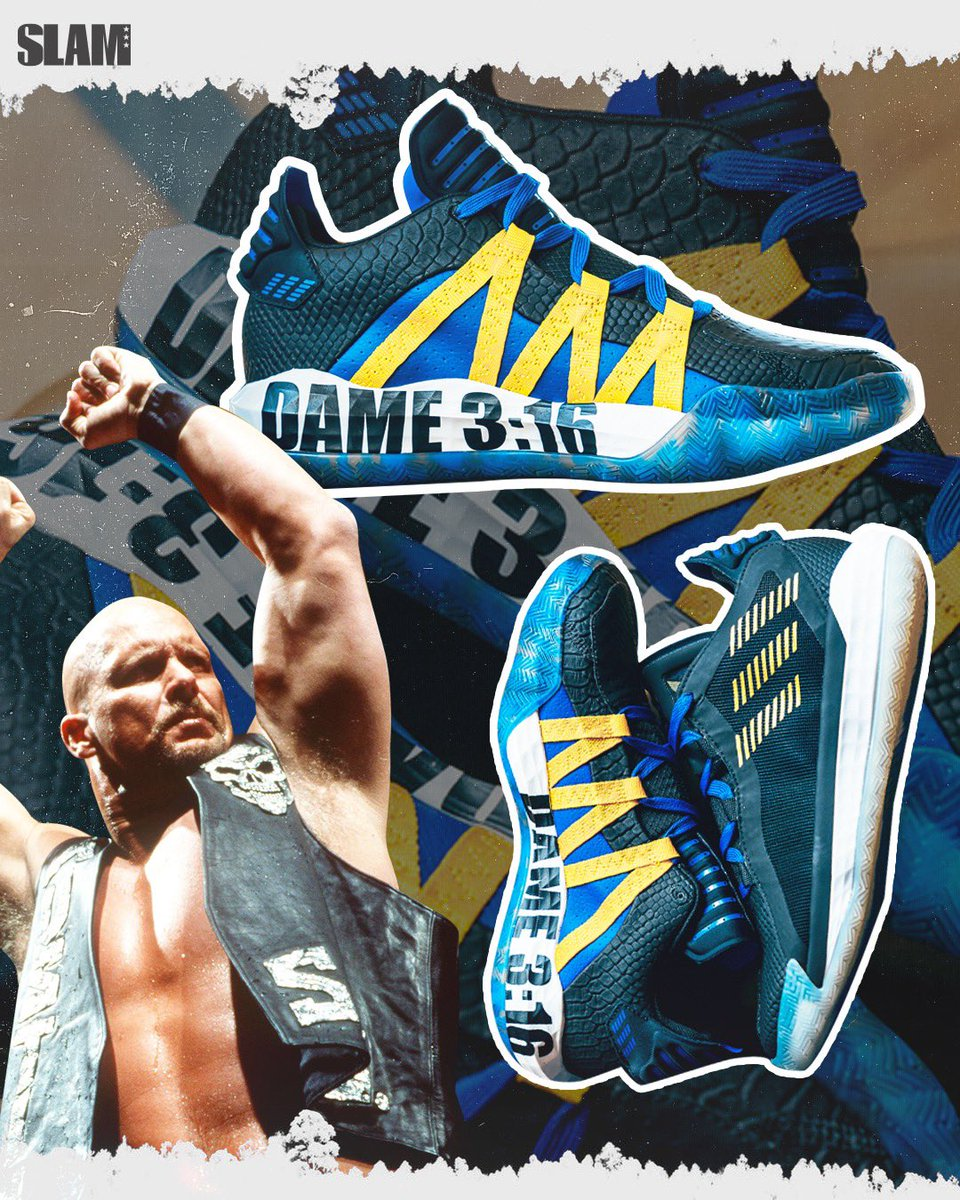 I don't know anything about pro wrestling but I know that Dame's collab with Stone Cold is tuff.
