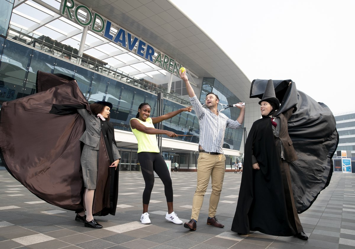 test Twitter Media - Combining the magic of the @AusOpen with the sorcery of Hogwarts School of Witchcraft and Wizardry thanks to @CursedChildAUS. Don't miss Harry Potter Day, Monday Jan 27. https://t.co/lLuZvvEfoz