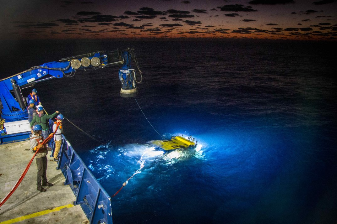 A day at the office with #ROVJason. @NSF_GEO