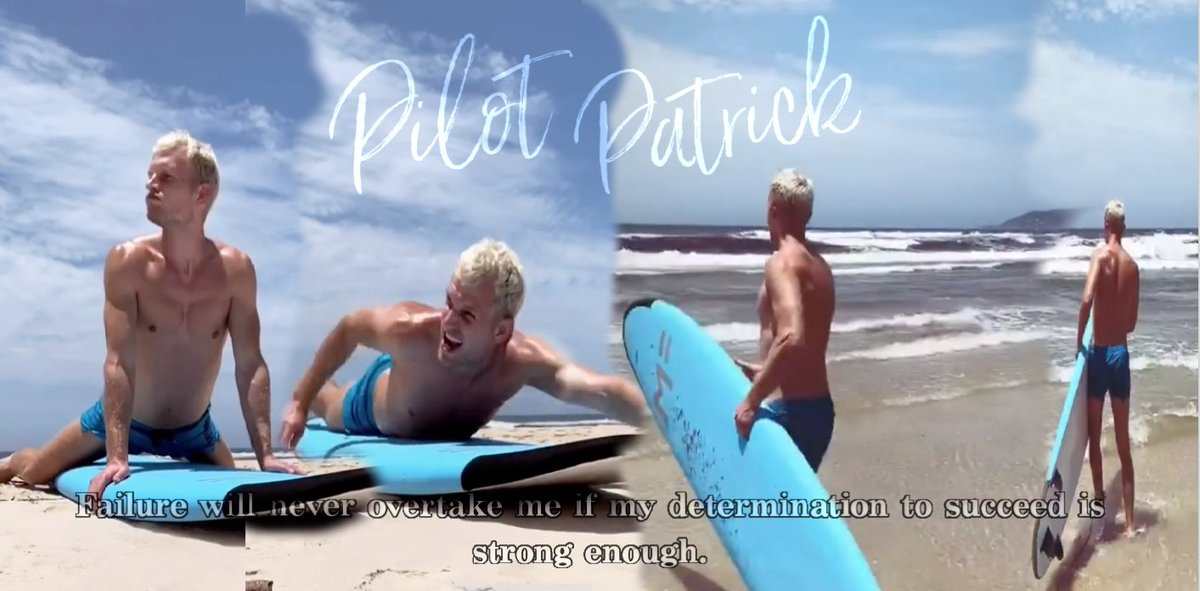Never be nervous to follow your dreams!  #PilotPatrick #FridayMotivation #FridayVibes #visitAustralia #Travel #surf #surfing #surfboard #travelblogger #Germanblogger #vacay #funinthesun #instadaily #instagood #instapilot #instalikepic.twitter.com/MX3BS11i5z