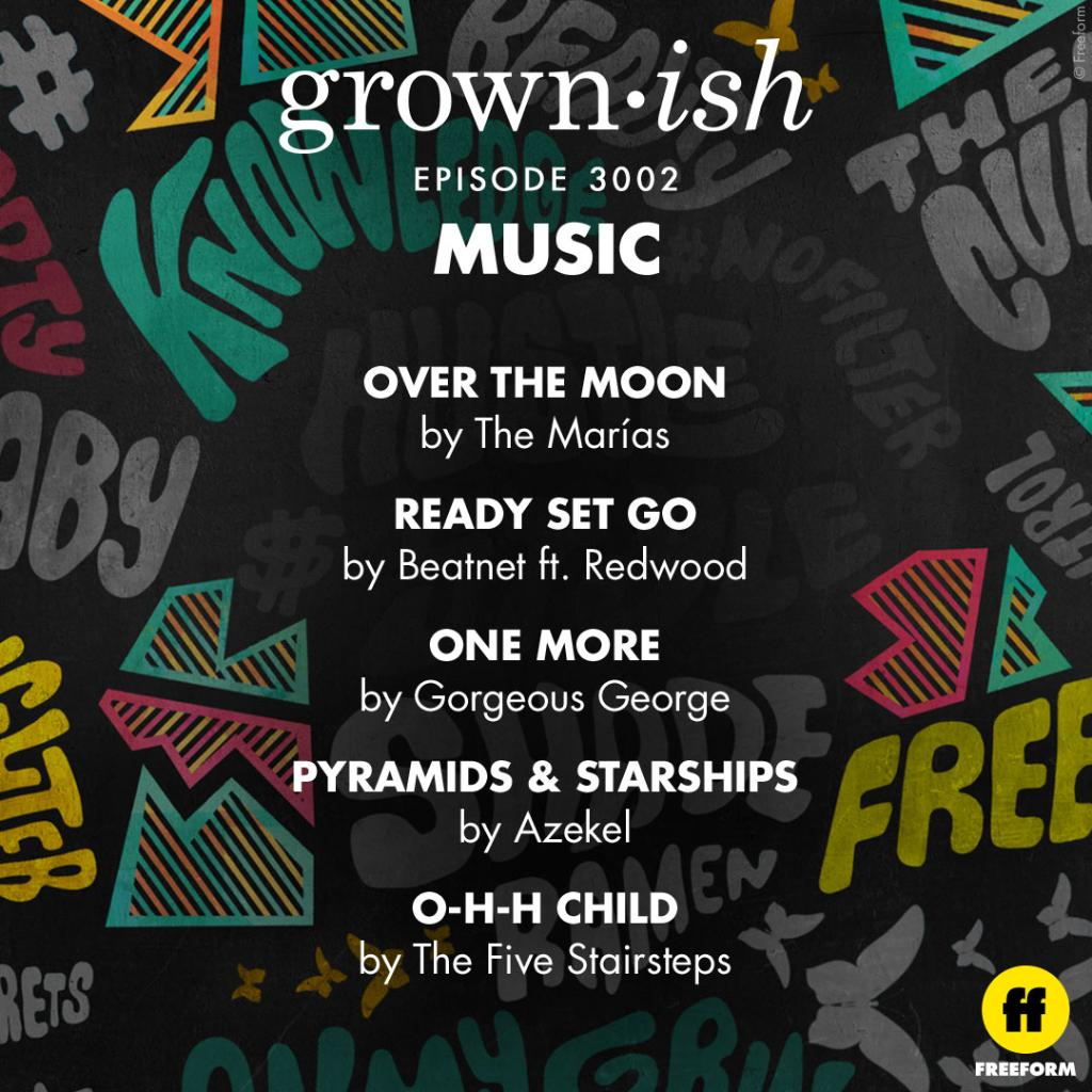 feelin the music on #grownish ? check out our @Spotify  playlist here:  https://spoti.fi/2Ti1gyE  .