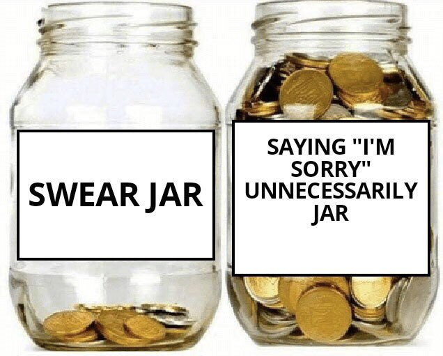 """Replying to @MunaNawabit1: #WithMyTaxRefund I'll have more money to put in the saying """"I'm sorry"""" unnecessarily jar"""