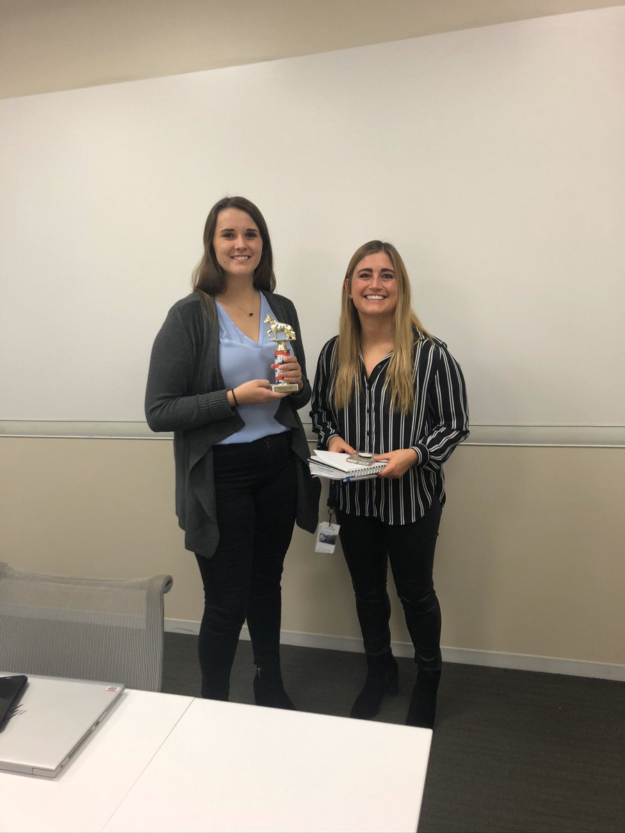 To celebrate the achievements of our team, this year we launched the Resource Planning Top Dog Award— a weekly peer2peer award recognizing the outstanding work taking place in RP! Congrats to Vicki who was nominated by last week's winner Ciara! @Sonja308 @Tobyatunited @JMRoitman