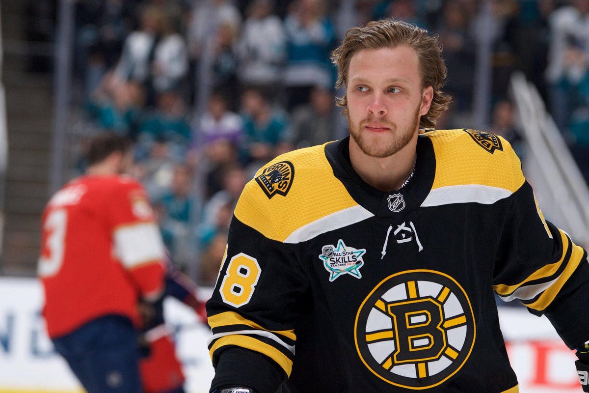 .@pastrnak96 will participate in the inaugural Shooting Stars event – players will shoot at targets from the stands - during tomorrow night's #NHLAllStar Skills Competition. <br>http://pic.twitter.com/PSUMOY0OIT
