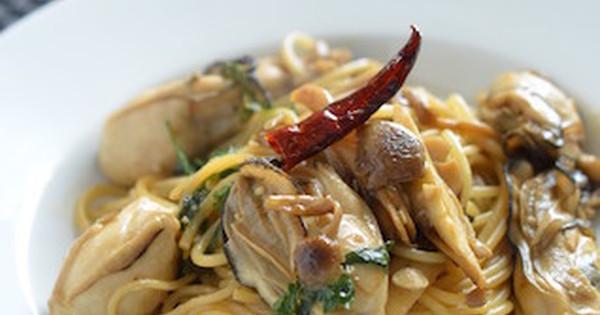旬の味を堪能「牡蠣パスタ」で冬のおうちランチを楽しもう:…
