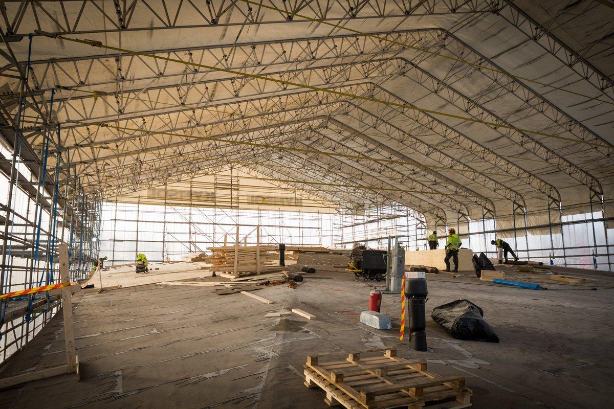 Näin meidän oman lähikoulun & -kirjaston rakennushanke etenee, #sisäilma-asiat huomioiden. 👍 #Lahti #Nastola #Rakokivi #rakokiveen #betonikuivuu