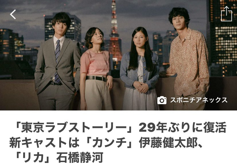 東京ラブストーリー音楽