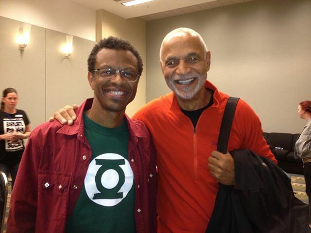 #tbt to the day I got to meet one of my acting icons, Ron Glass! I grew up watching him on Barney Miller (one of the best sitcoms of all time) and didn't realize until I became an actor myself how much he influenced my idea of what makes a great, funny, … ift.tt/2GlgZs5