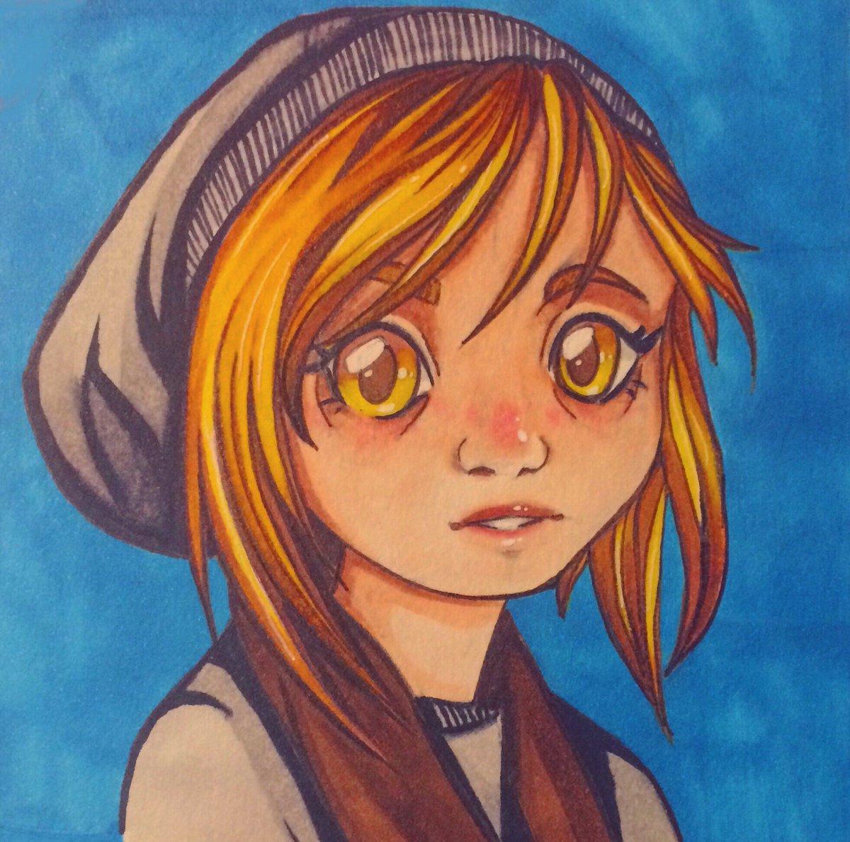 Just a quick drawing #myart #MyArtwork #ink #anime #AnimeArt https://t.co/EuFmhv7XJK