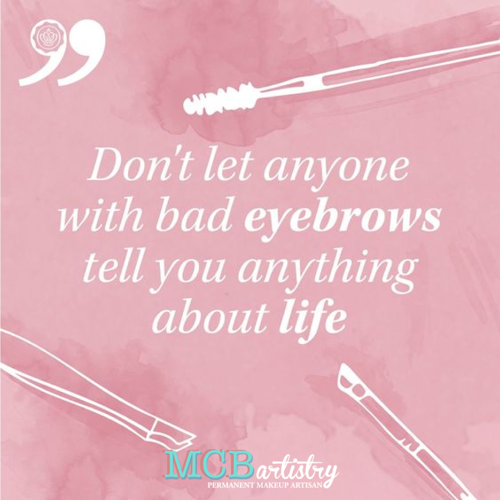 After all, you can't fix your life if you can't fix your brows...  #MCBartistry #browartist #eyebrows #permanentmakeup #makeup #eyebrow #brows #lipliner #eyeliner #beautystudio #microblading #beautysalon #browlife #browsonfleek #eyebrowembroidery #life #badbrowspic.twitter.com/ctb7oCwDRj
