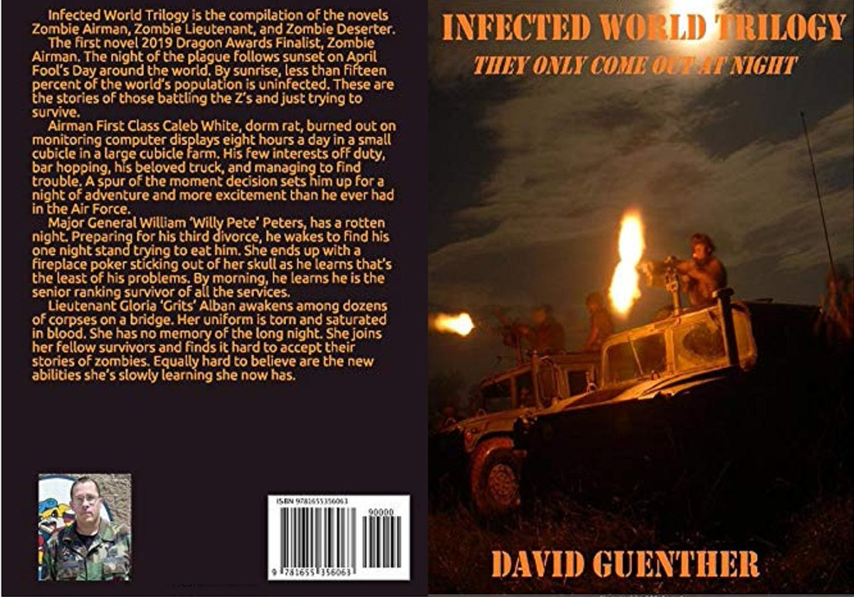 The Zs only come out at night! Get INFECTED WORLD TRILOGY to prepare now! #BookSeries #KU #kindle #eBook #bookaddict #thriller #usn #USAFwomen #airwoman #Marines #army #soldier #zombiehorde #zombiestory  https://amzn.to/2s16mYapic.twitter.com/JEeVt7jaqr