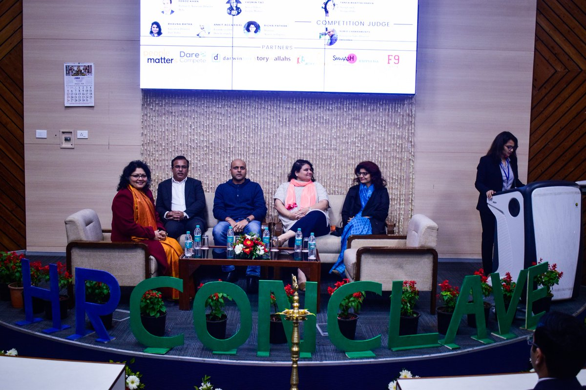 The day-long event was filled with insightfuldiscussion by industry stalwarts like Mr. Ankit Aggarwal (Founder and CEO, Dare2Compete), Ms. Bhavna Batra (Executive Director, Management Consulting at PwC India), Ms. Richa Pathak Dogra (Director, People Strategy at American Express)