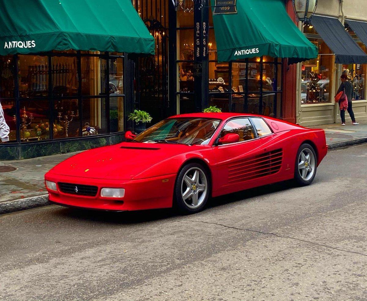 Ferrari Testarossa in New Orleans. #ferrari #testarossa #ferraritestarossa #italian #italiancar #italiancars #supercars #supercar #sportscar #sportcars #exoticcars #ferrari #classiccars #classiccar #neworleans #louisiana #nola #exoticcar #supercarlifestyle #car #cars #rarecar