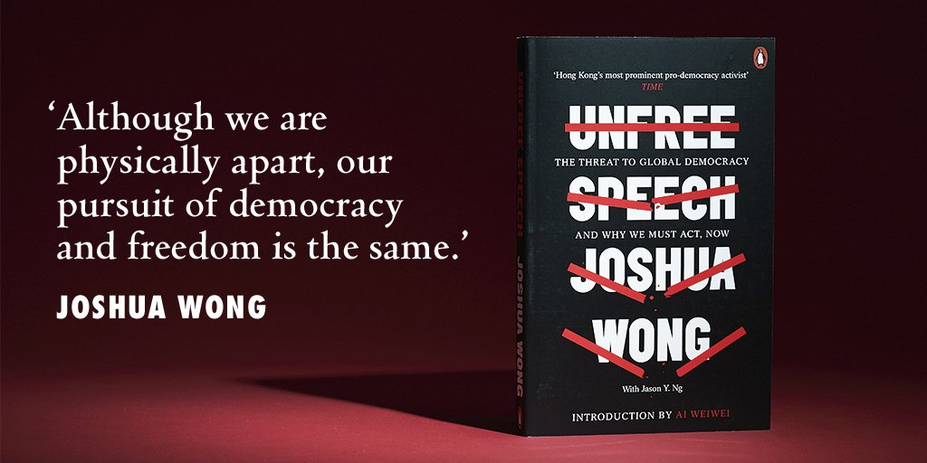 Unfree Speech is my first book with @jasonyng that will publish in 9 countries (🇬🇧🇺🇸🇮🇹🇫🇷🇩🇪🇧🇷🇪🇸🇰🇷🇯🇵). This urgent manifesto for global democracy is out next week: http://hyperurl.co/unfreespeech . When we stay silent, no one is safe. When we free our speech, our voice becomes one!