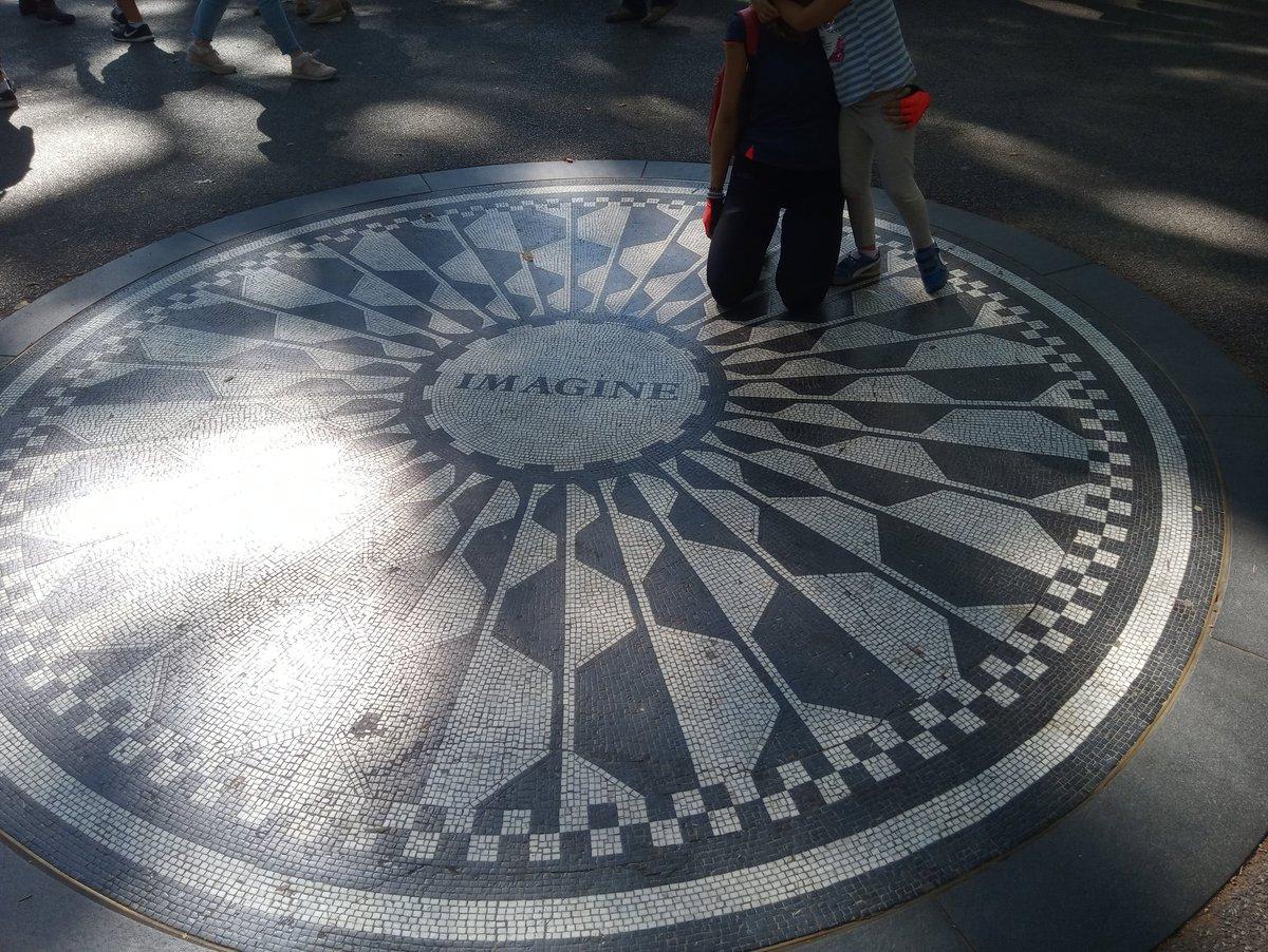 Imagine NewYork City. John Lennon #beatles #JohnLennon #strawberryfields