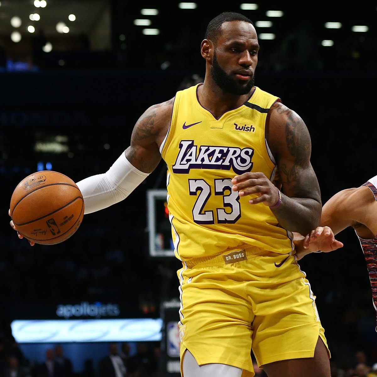 LeBron James (27 PTS, 12 REB, 10 AST) recorded his 3rd triple-double since turning 35 years old. The only player in @NBAHistory with more triple-doubles at age 35 or older is Jason Kidd (who had 8).