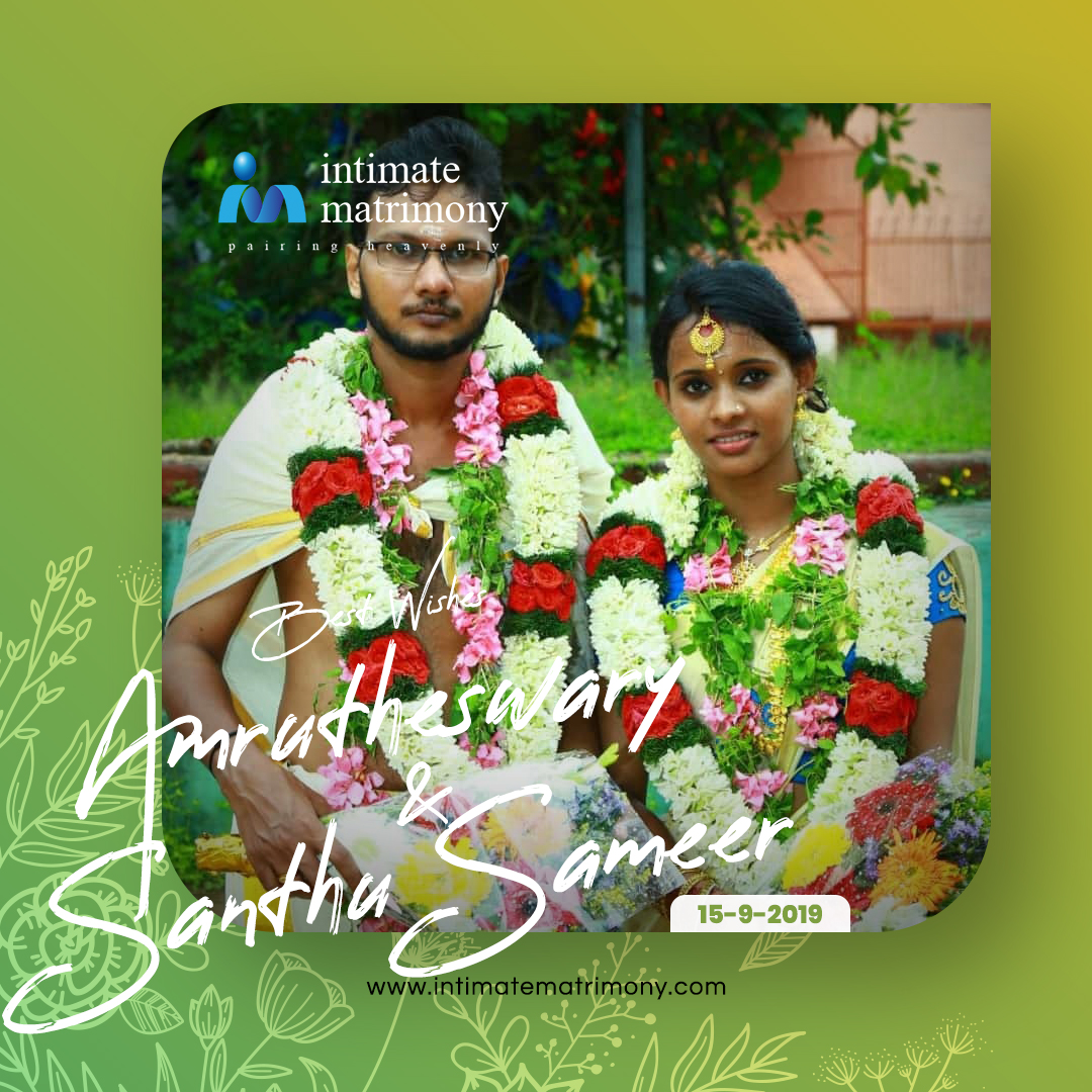 """Best wishes for a fun-filled future together.""  #HappyMarriages with Intimate Matrimony  Register http://intimatematrimony.com   #intimatewedding #intimatematrimony #intimatecouples #happywedding #couplegoals #weddingwithintimate #keralamatrimonial #keralawedding #Hindumatrimonypic.twitter.com/j0ghh69hpW"