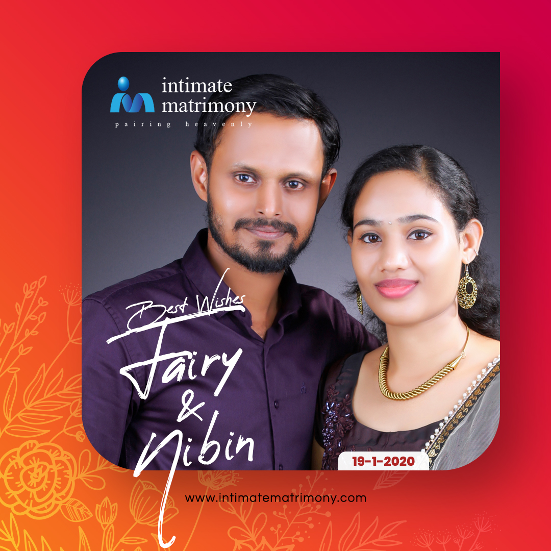 Wish you a wonderful life together.  #HappyMarriages with Intimate Matrimony  Register Now on http://intimatematrimony.com   #intimatewedding #intimatematrimony #intimatecouples #happywedding #couplegoals #weddingwithintimate #keralamatrimonial #keralawedding #christianmatrimonypic.twitter.com/UPW94qtNFz