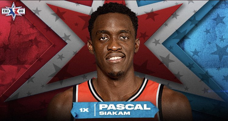 Representing Cameroon at the 2020 #NBAAllStar Game, Pascal Siakam and Joel Embiid 👏🏾🇨🇲 https://t.co/1MS1o9ZQN6