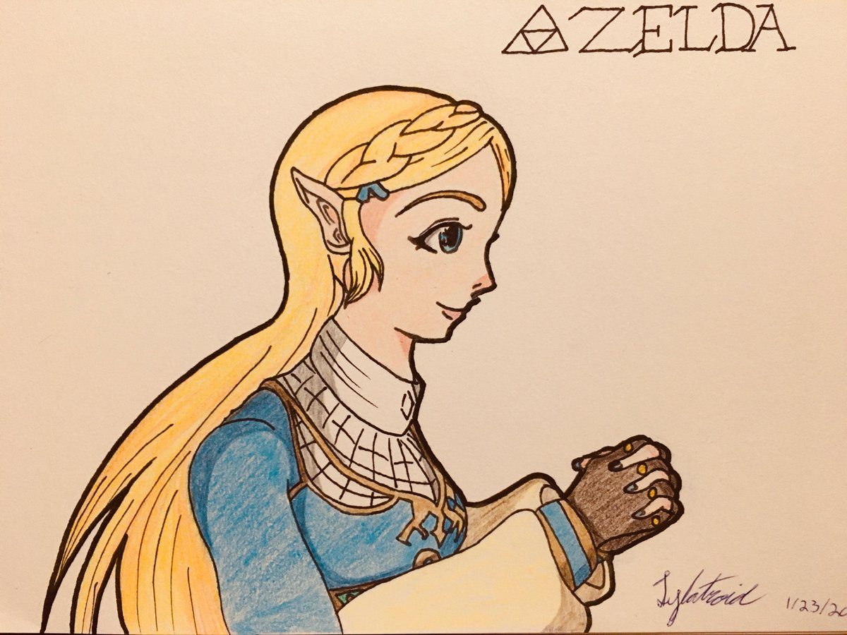 Special request to my brother who loves Zelda like if she was his favorite Disney Princess.   #princesszelda #BreathoftheWild #ZeldaBreathoftheWild #nintendofanart pic.twitter.com/ummknmQoGS