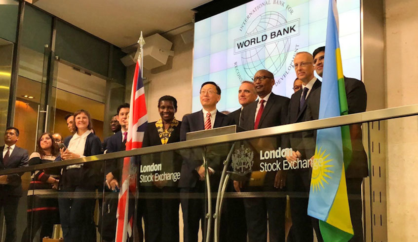 The World Bank on Monday announced the issuance of its first bond denominated in Rwandan franc. The sole lead manager is Citibank. The bond will be listed on the London Stock Exchange https://buff.ly/2RnIDLF