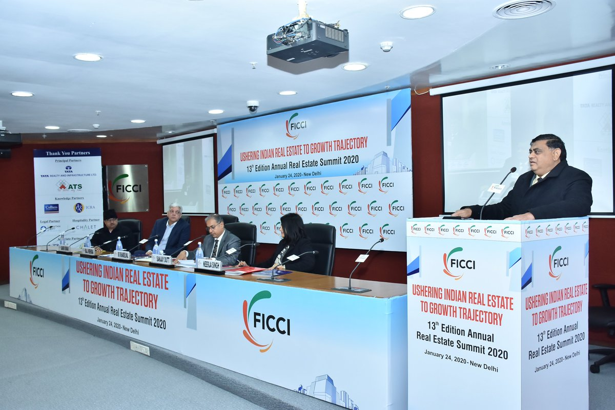 RERA brought back the confidence of the buyers in the market: Mr KK Khandelwal, Chairman, Haryana- RERA at FICCI Annual #RealEstate Summit 2020.<br>http://pic.twitter.com/hO32tdxU2X
