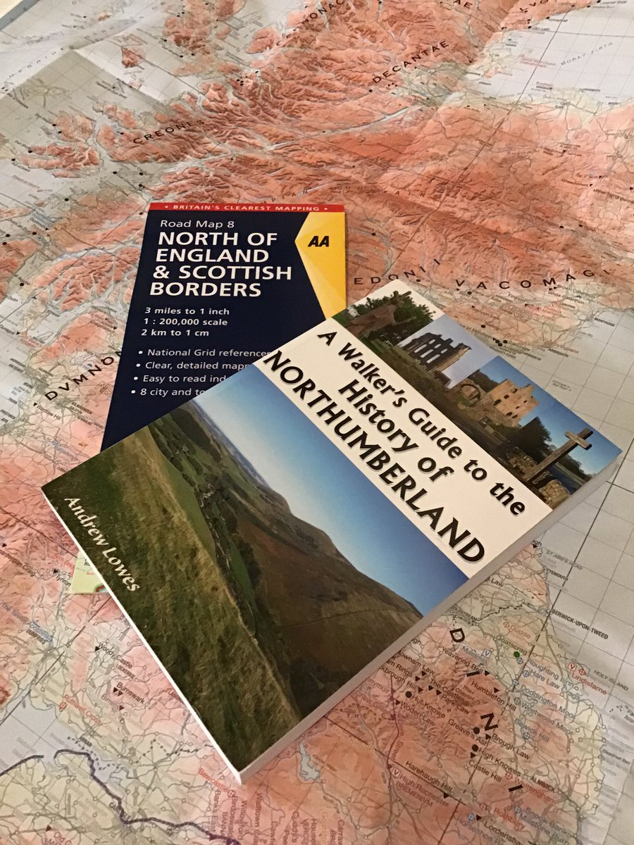 It's the first #FreebieFriday of 2020,and this time to get you all excited about getting out and about in #Northumberland,we're giving away this Map & Book combo,to win just Like,RT and tag a Walking Friend,winner announced at random 28/01/20 #Walking #Giveaway #CompetitionTime<br>http://pic.twitter.com/CCtedZUC5N