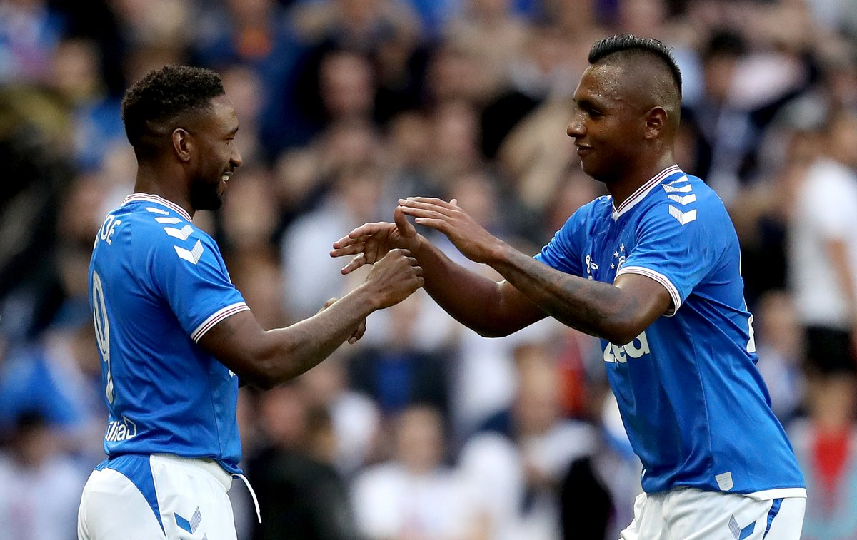 Steven Gerrard has reiterated that Rangers striker Alfredo Morelos is not for sale this month.