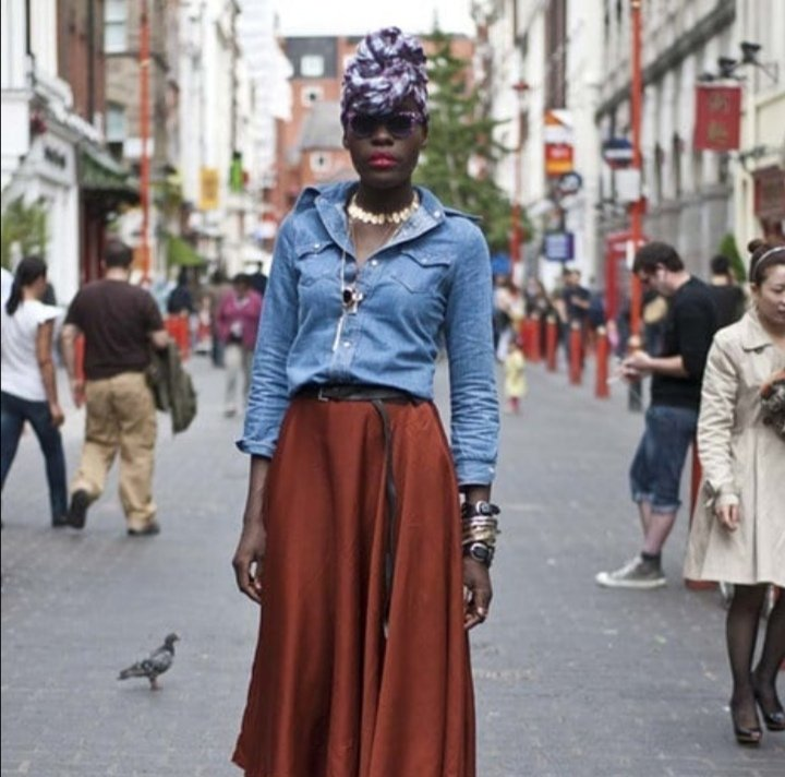 Denim shirts never get old #mariankwei #fashionblog <br>http://pic.twitter.com/jbanws112k