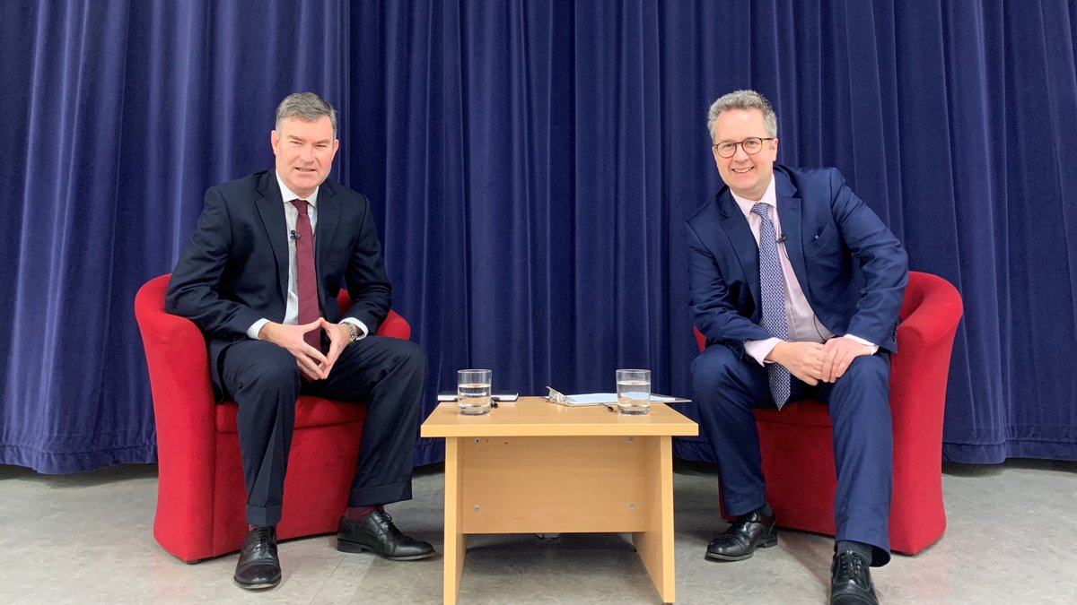 A wonderful experience for Students @SCDSchool today who were part of a special episode of the @Telegraph's weekly @brexitbroadcast with local politician @DavidGauke & chief political correspondent & assistant editor at The Daily Telegraph @christopherhope. https://t.co/gMljVy6ets