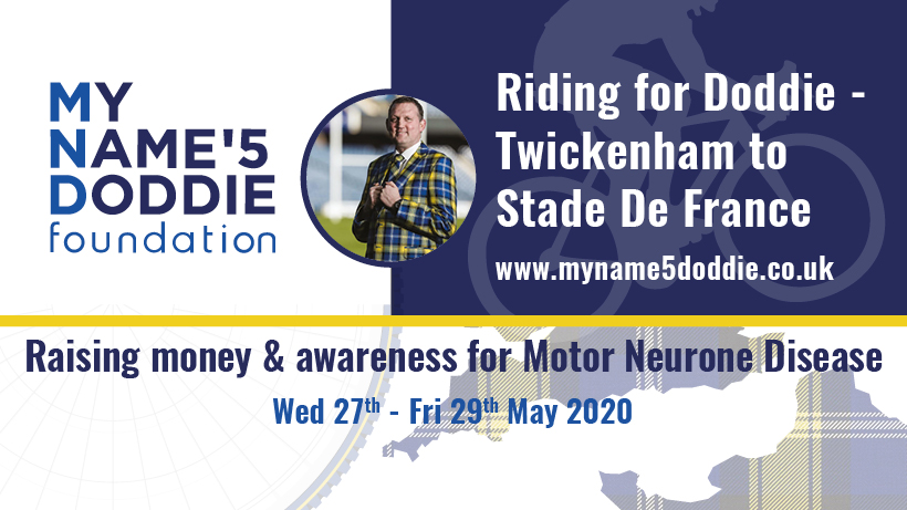 WOW! A group of lads including 1stXV, 2ndXV, VetsXV, M&J's, Management and Members are cycling from @Twickenhamstad to Stafe de France for a great charity!!!   Please dig deep and support the guys with their challenge!  @NorthMidsRFU @ShropshireRFU @EnglandRugby @MNDoddie5