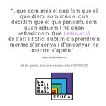 Image for the Tweet beginning: @educaciocat @olotciutatedu @EducatingCities @educacio360 @educadiba