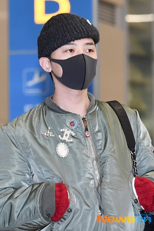 【PHOTO】BIGBANGのG-DRAGON、海外スケジュールを終えて帰国…クールな雰囲気(動画あり)