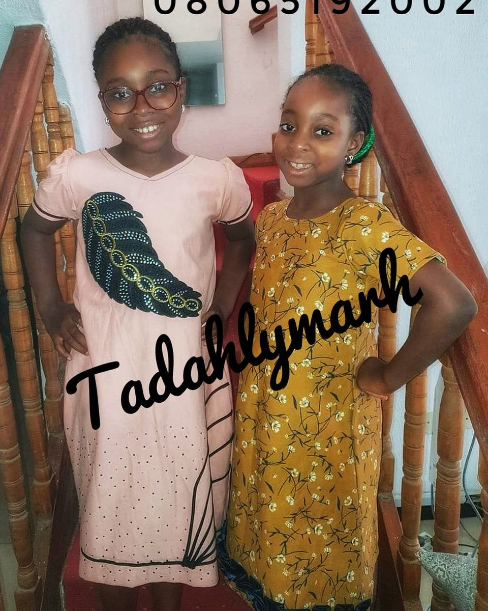 Classy princesses in a simple gown. 08065192002  Affordable, quality materials, simple & unique styling.   #tadahlymarh is your right plug  #baby #nigeria #ad #gown #babygirl #babygown #style #marketing #ilorin #arewailorinpple #kwara #asoebibella #kidsfashion #kidsgown #girlpic.twitter.com/qfHNj68G91